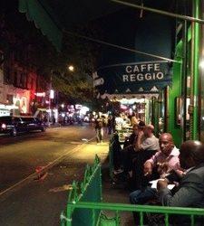 Coffee at Caffe Reggio…..