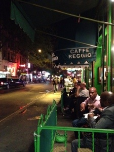 Coffee at Caffe Reggio…..