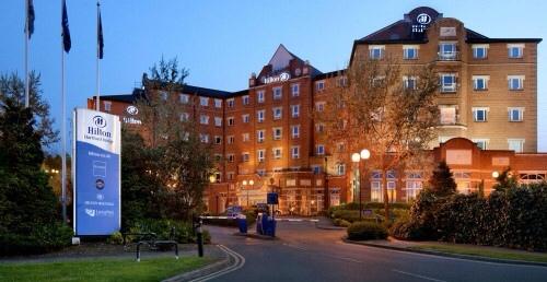 Hilton Dartford Bridge Hotel, Dartford, UK…..